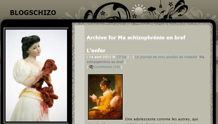 Capture Blog schizo