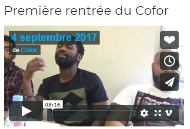 Capture COFOR rentre