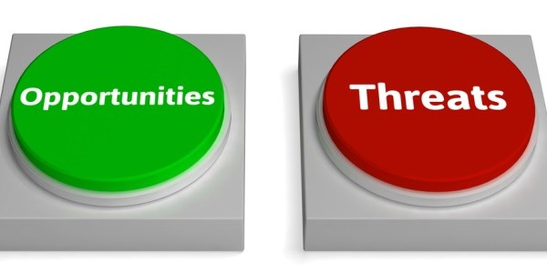 threats opportunities buttons